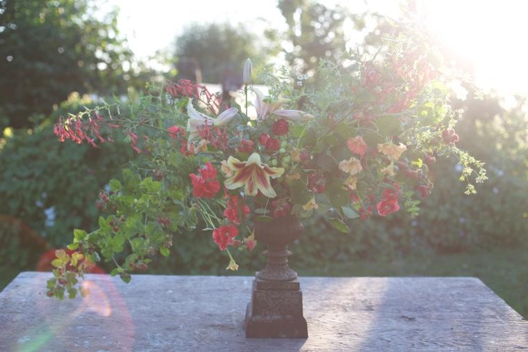 floret raspberry bouquet