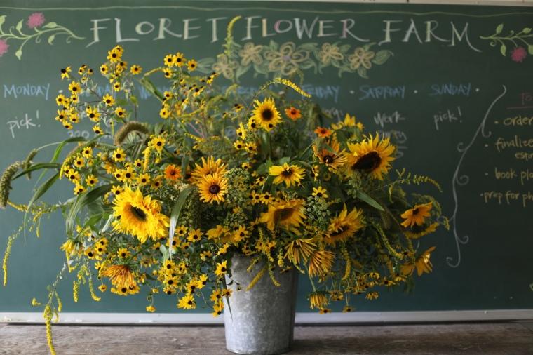 Floret Flower Farm Sunflower Bouquet