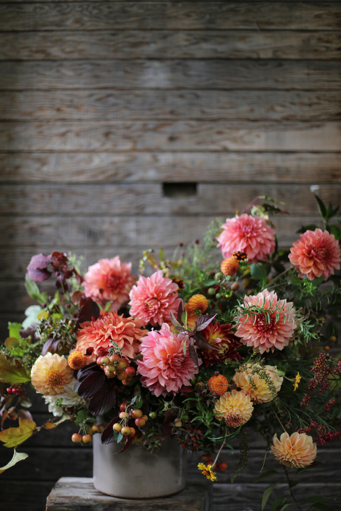 Floret fall bouquet
